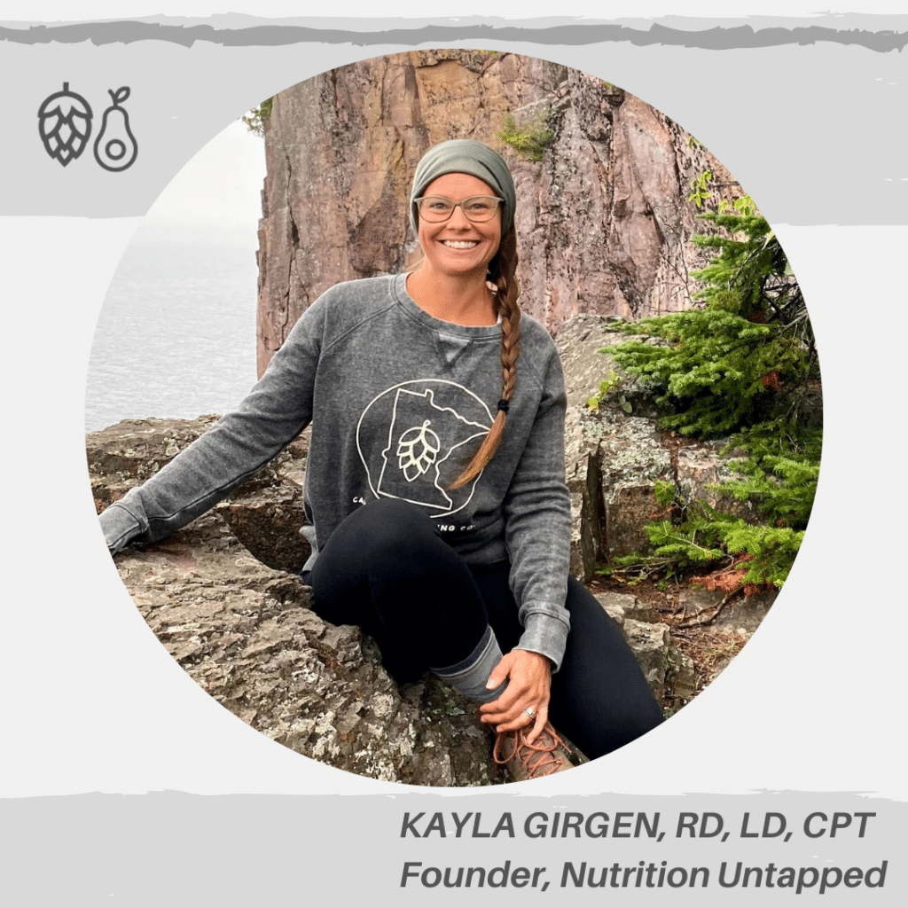 Photo_KAYLA GIRGEN, RD, LD Founder, Nutrition Untapped