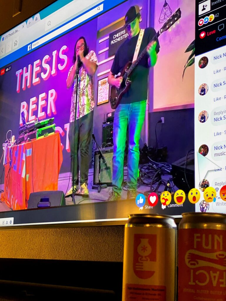 Thesis Beer Project_Virtual Live Music