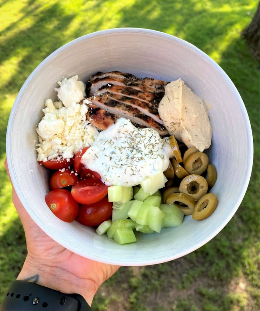 Tzatiki Chicken Bowl